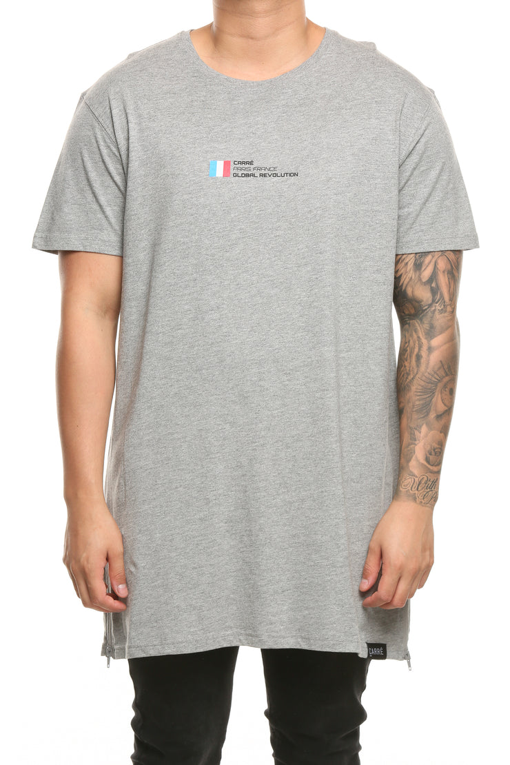 Carré Global Revolution Capone Tee Grey