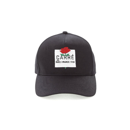 Carré Rose Snapback Black