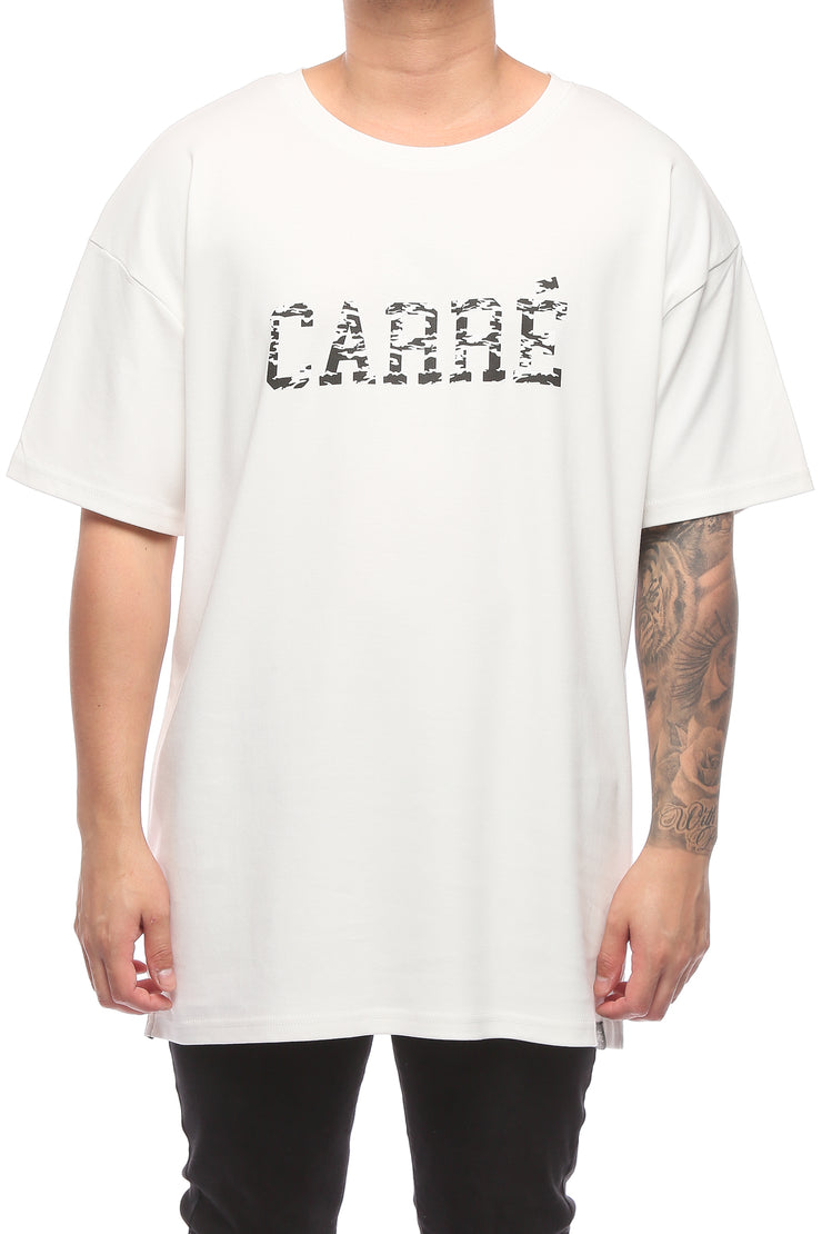 Carré Hardi Terreux SS Tee Off White