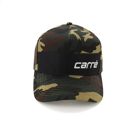 Carré Trait Strapback Camo