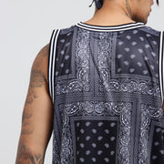Carré Bandit Basketball Jersey Black