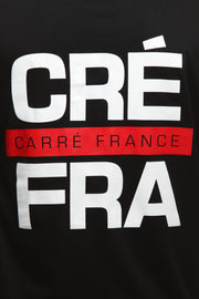 Carré Abbreviation Divise LS Tee Black