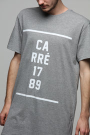 Carré Dropped Capone SS Tee Grey