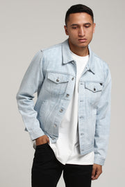Carré Bandit Denim Jacket Light Blue
