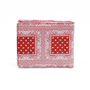 Carré Bandit Leather Wallet Red