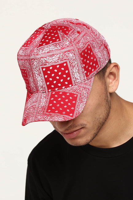 Carré Bandit Strapback Red