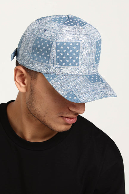 Carré Bandit Strapback Light Denim