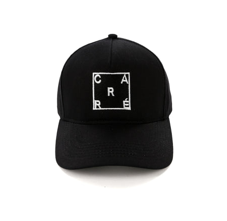 Carré Square Snapback Black