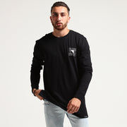 Carré Angles Divise LS Tee Black