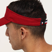 Carré Pinnacale Visor Red