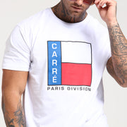 Carré C-Block Divise SS Tee White