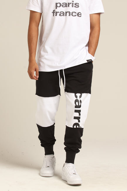 Carré Hacher Sweatpants White/Black