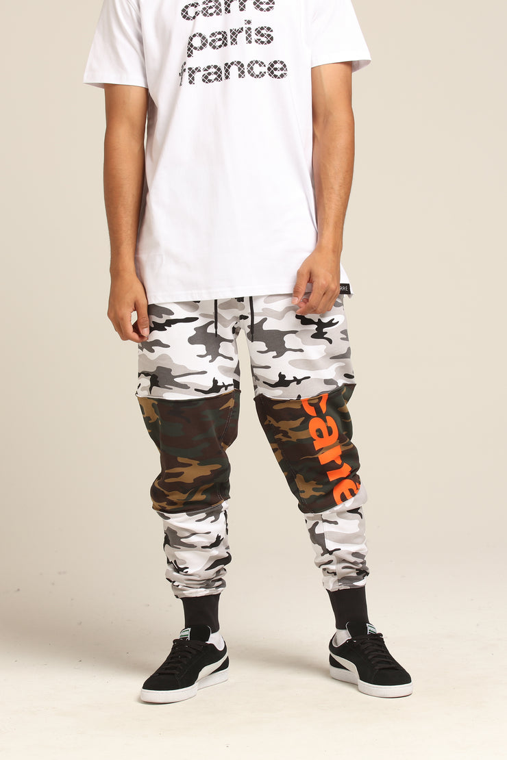 Carré Hacher Sweatpants Camo/Snow Camo