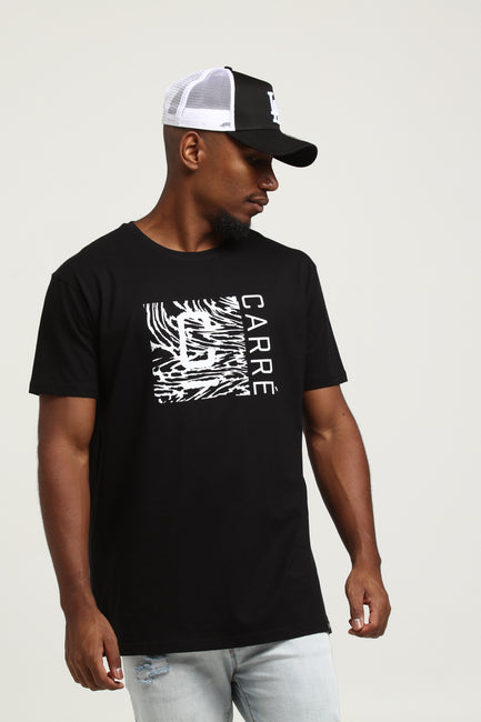 Carré Mirage Divise SS Tee Black