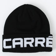 Carré Marked Beanie Black