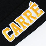 Carré Undefeated Beanie Black