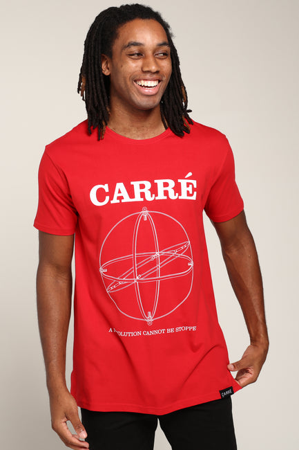 Carré RPM Divise SS Tee Red
