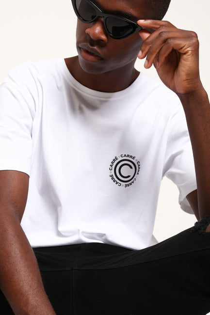 Carré Certified Divise Tee White