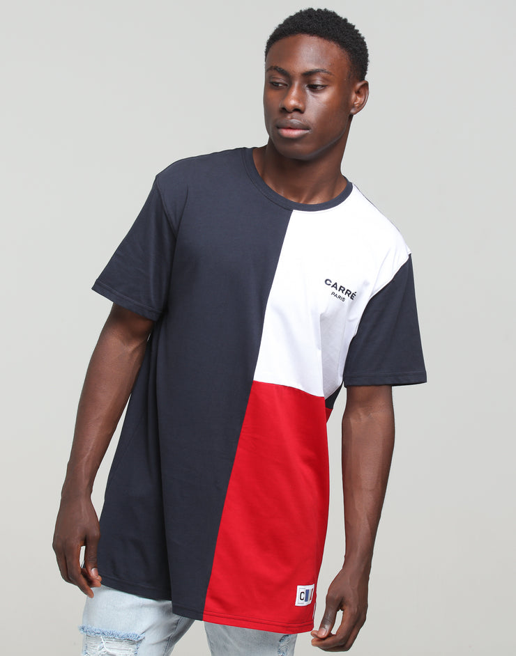 Carré Patriot Divise SS Tee Navy/White/Red