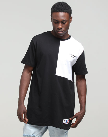 Carré Patriot Divise SS Tee Black/White