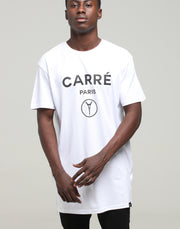 Carré Iron Lady Capone SS Tee White