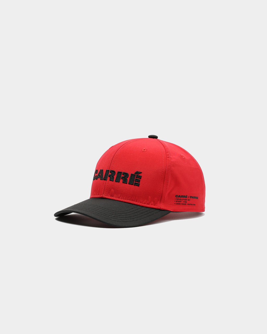 Carré Rev 001 Strapback Red/Black