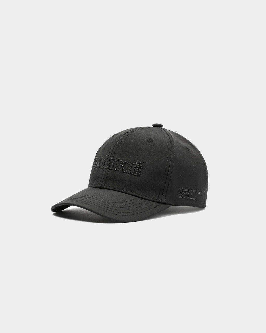 Carré Rev 001 Strapback Black