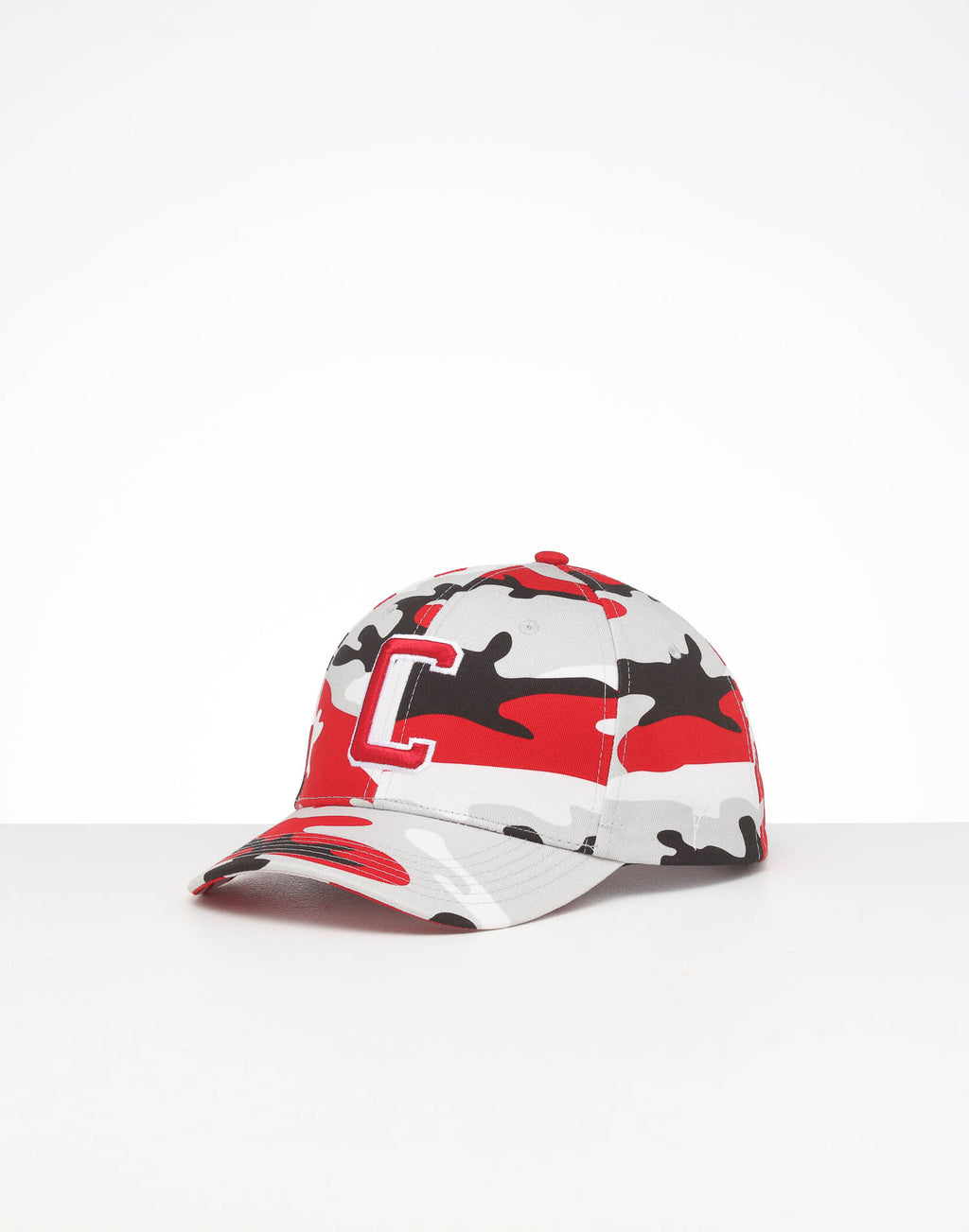 CARRÉ CAPITAL C GRAND SNAPBACK RED CAMO