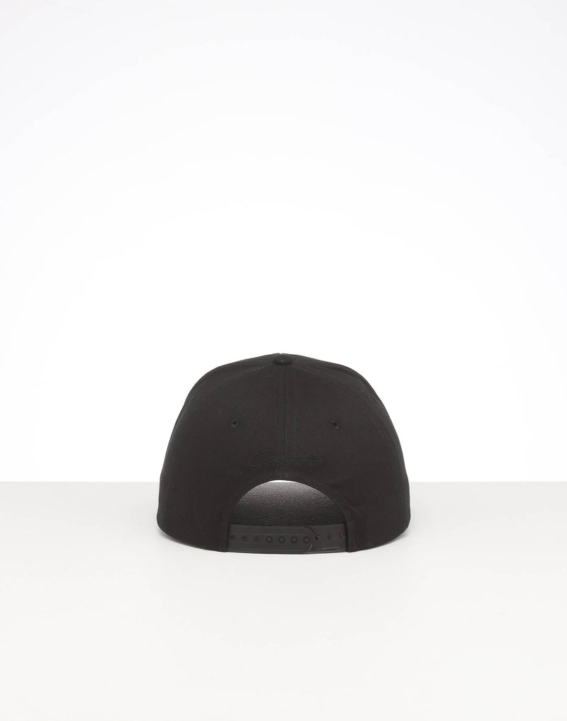 CARRÉ STAPLE METAL GRAND SNAPBACK BLACK/GOLD