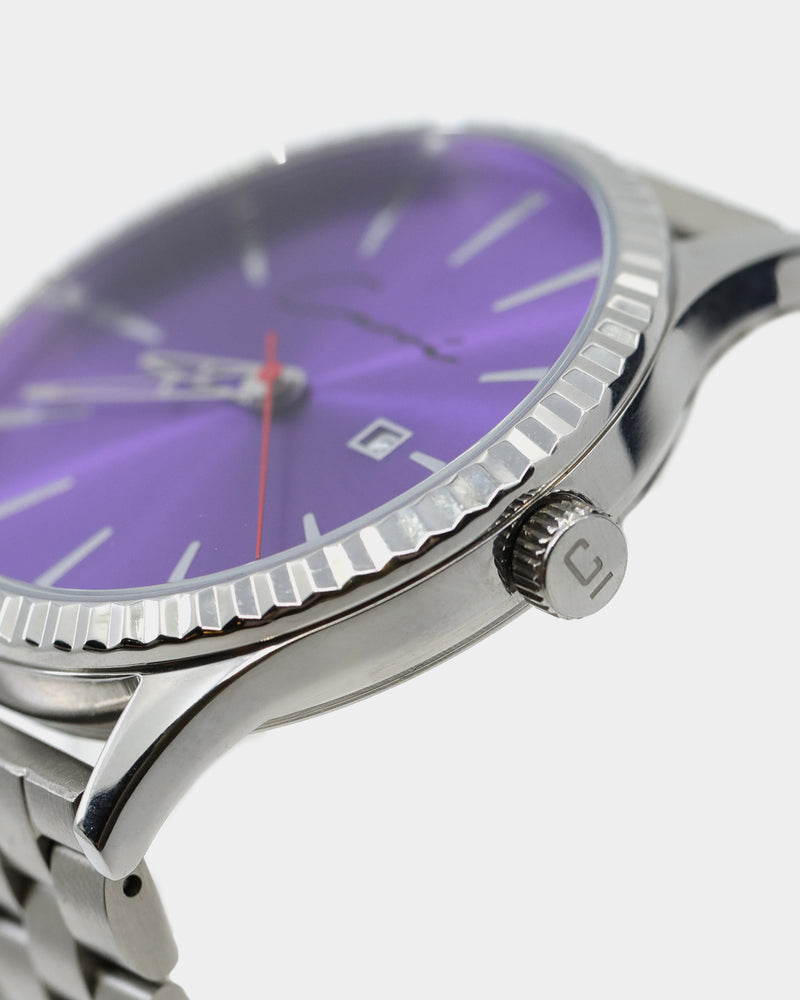 Carré Remy Watch Silver/Purple