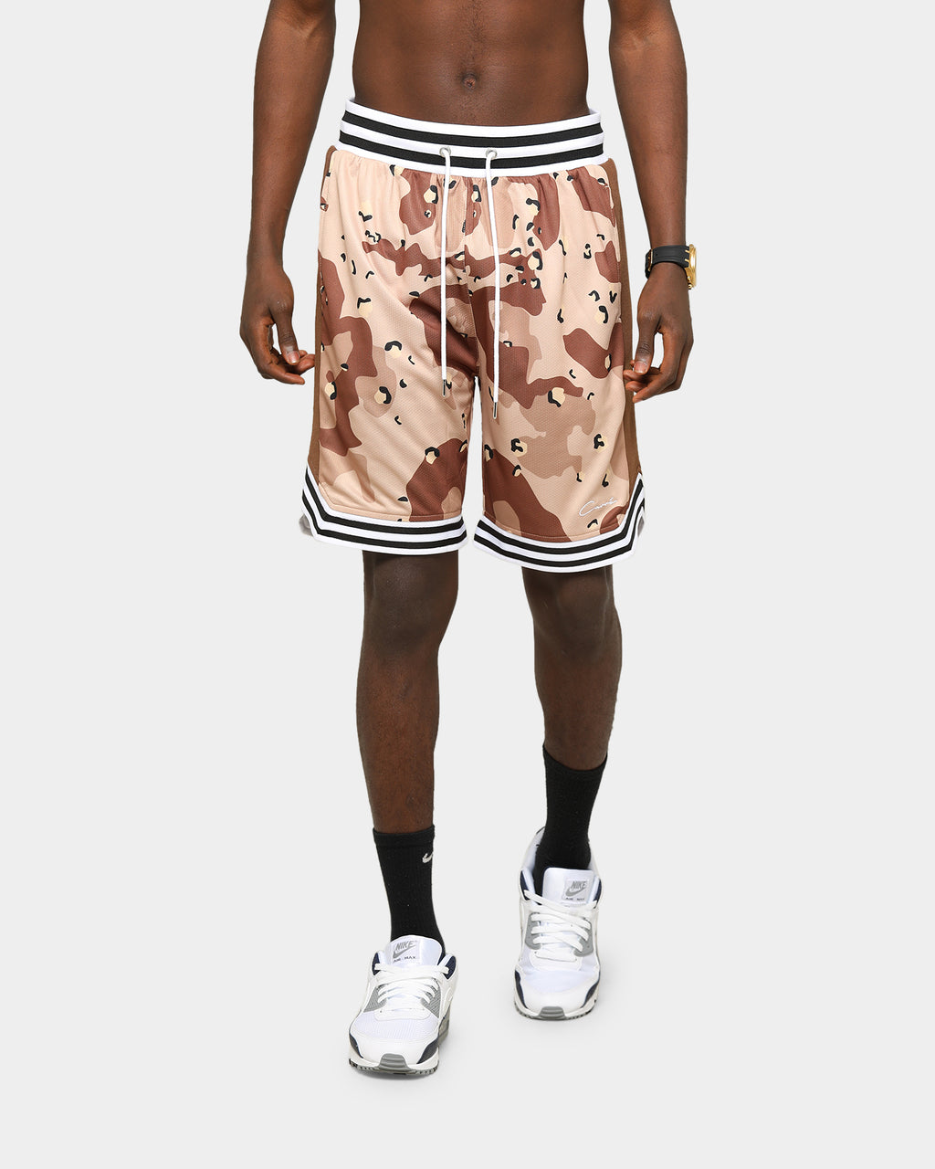 Carré Men's Ball Shorts Desert Camo