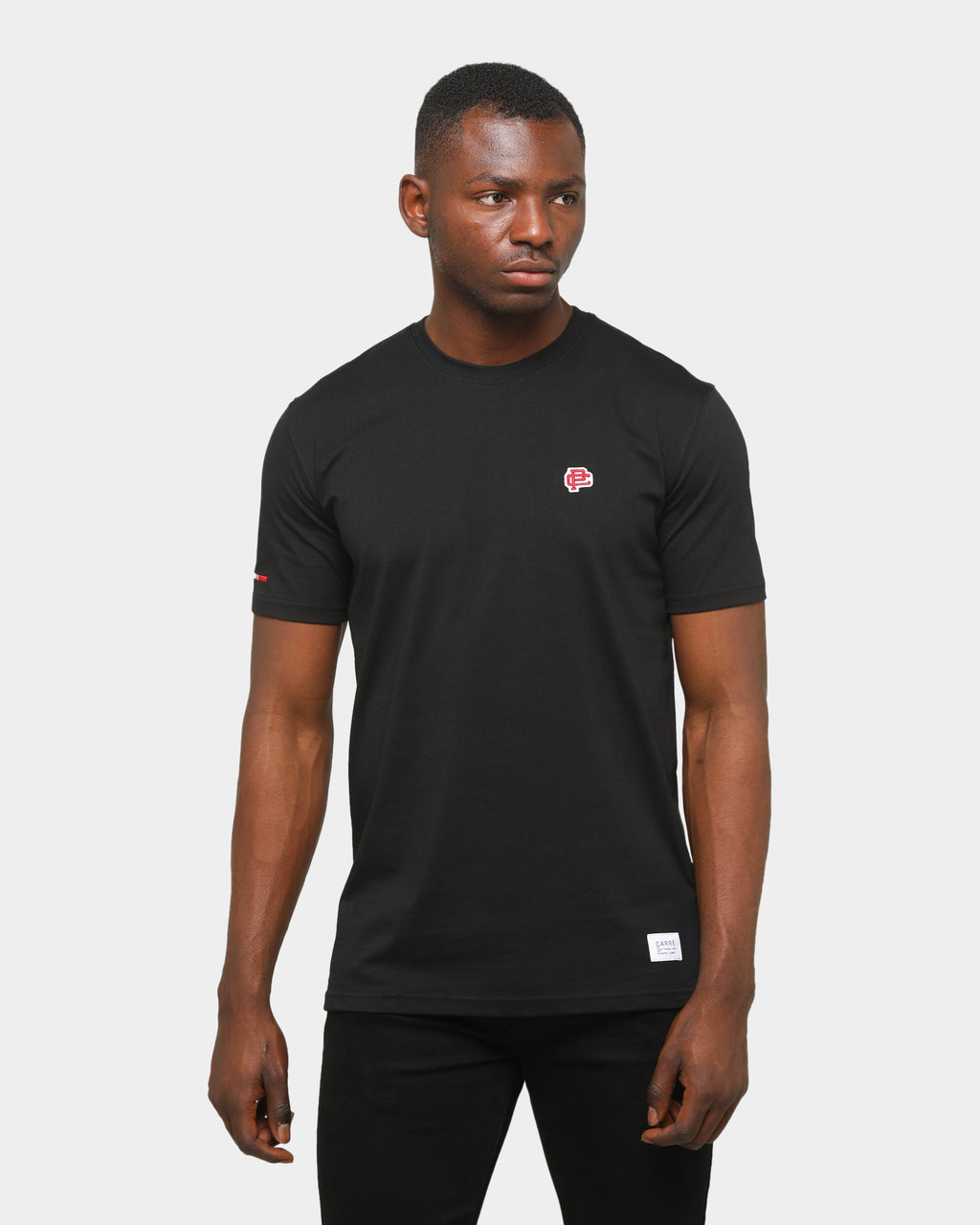 Carre Mono Classique Short-Sleeve T-Shirt Black
