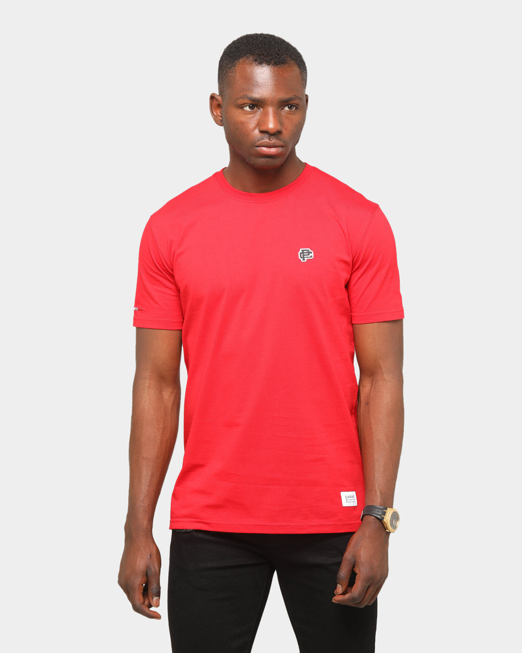 Carre Mono Classique Short-Sleeve T-Shirt Red