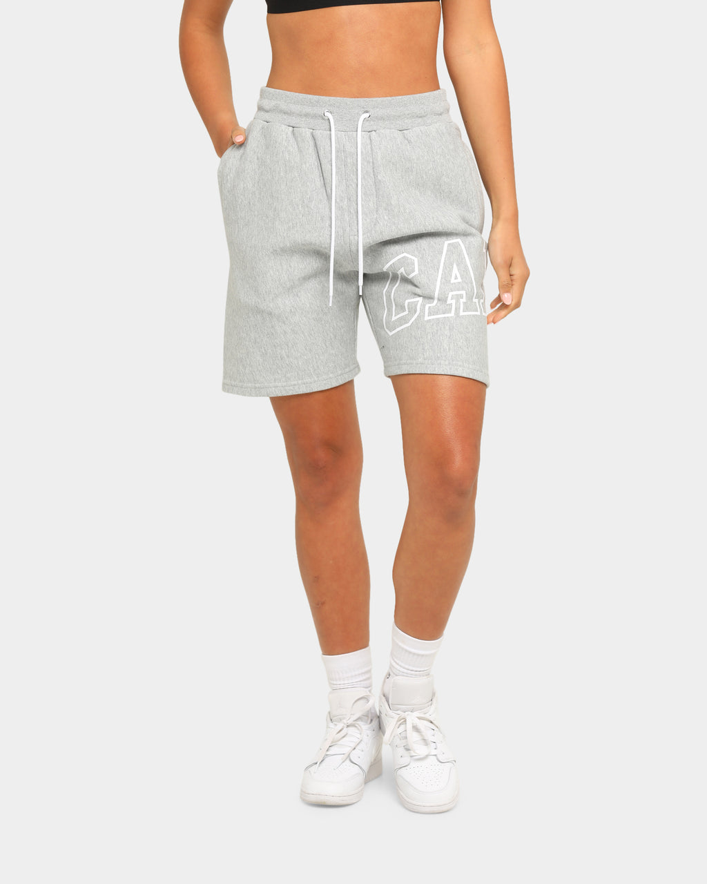 Carré Men's Enorme Sweat Short Grey Marle