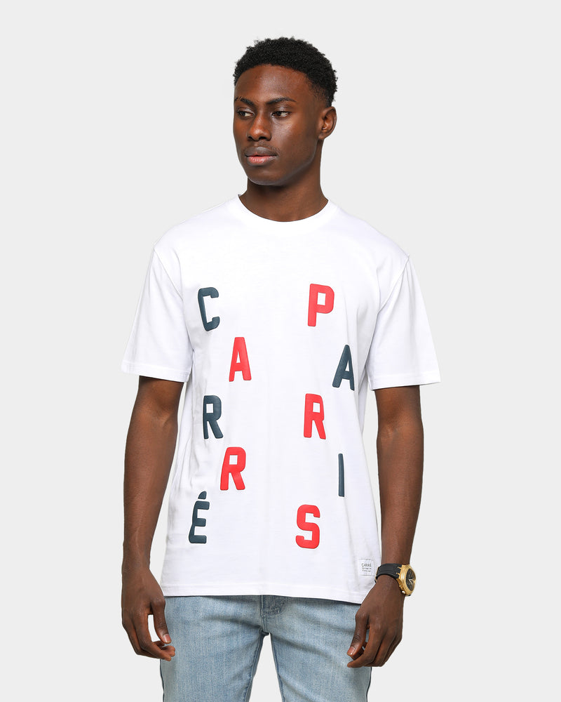 Carré Men's Scramble Classique Short Sleeve T-Shirt White