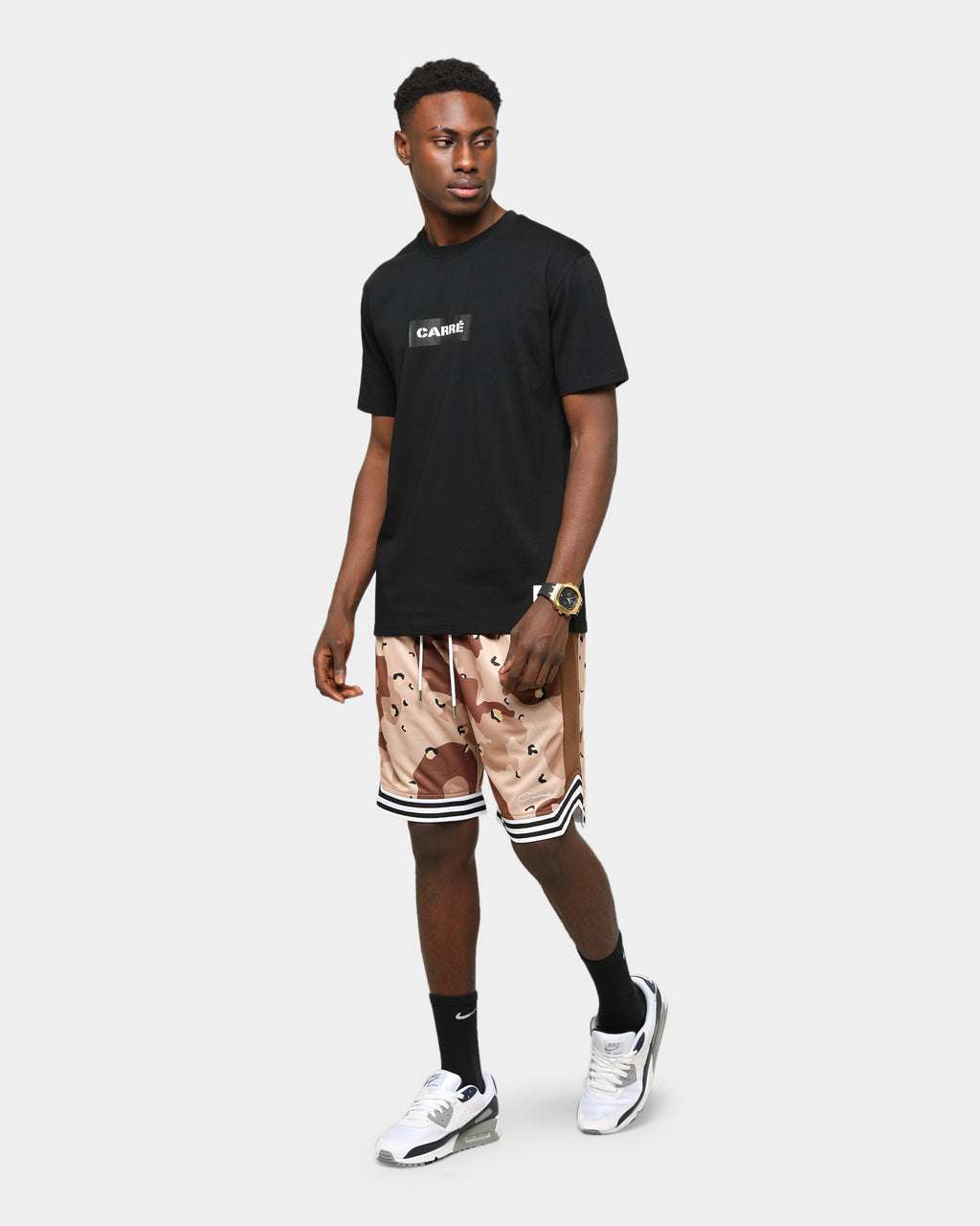 Carré Roadman Classique Short Sleeve T-Shirt Black