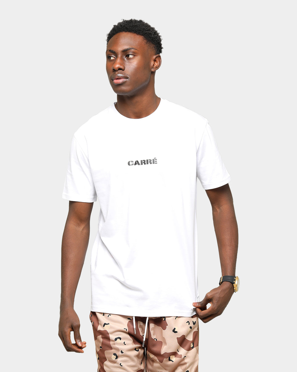 Carré Roadman Classique Short Sleeve T-Shirt White