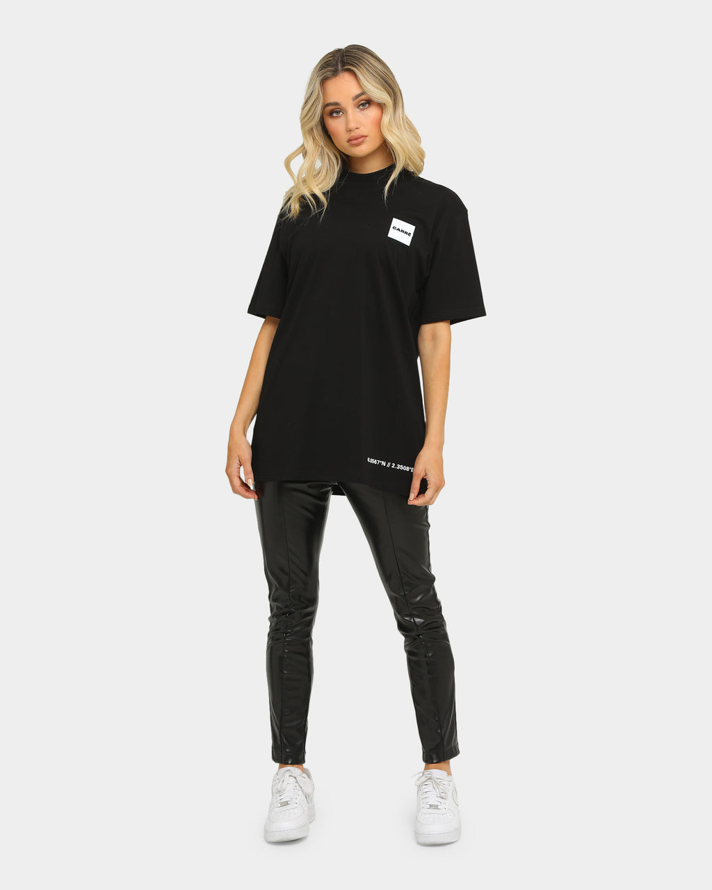 Carré Marshal Short Sleeve T-Shirt Black