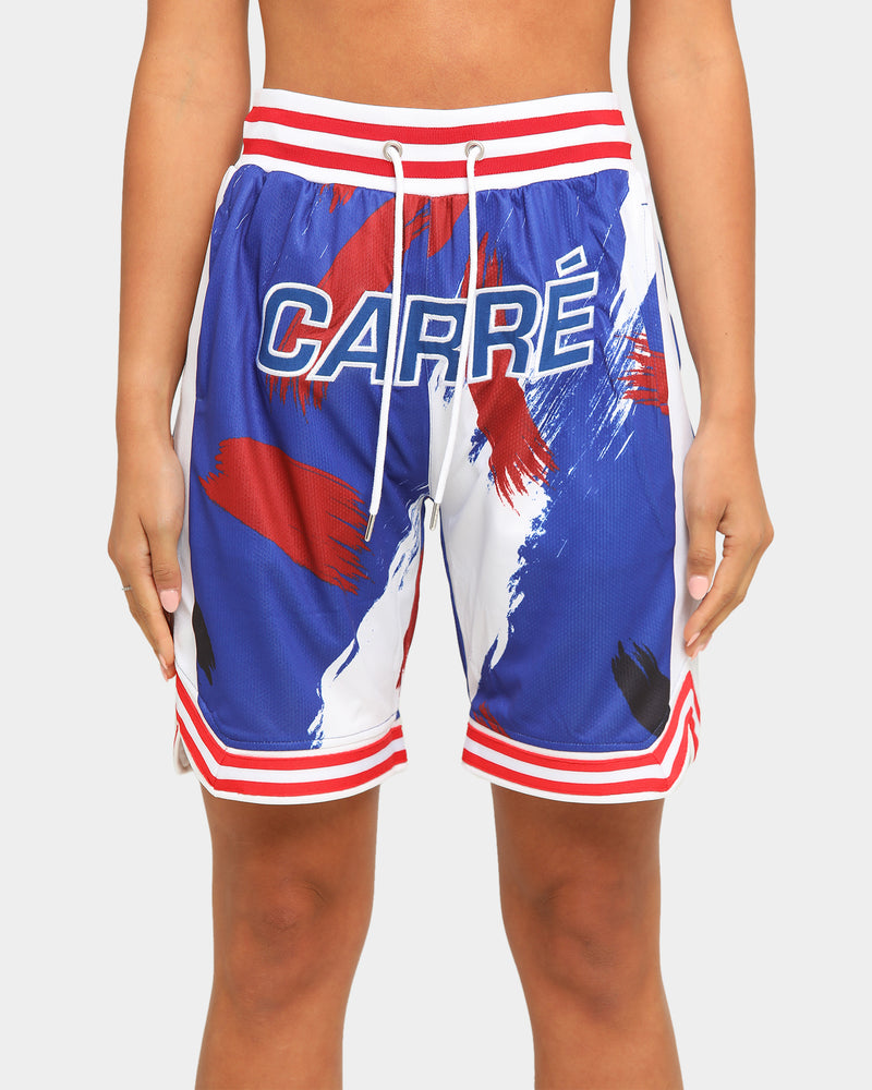 Carré Men's Retro Ball Short Black/White/Red