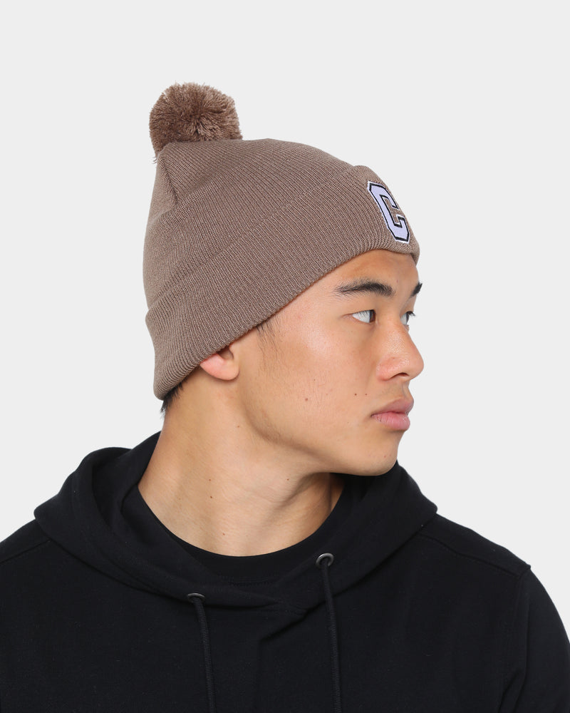 Carré Men's MVP Pom Beanie Tan