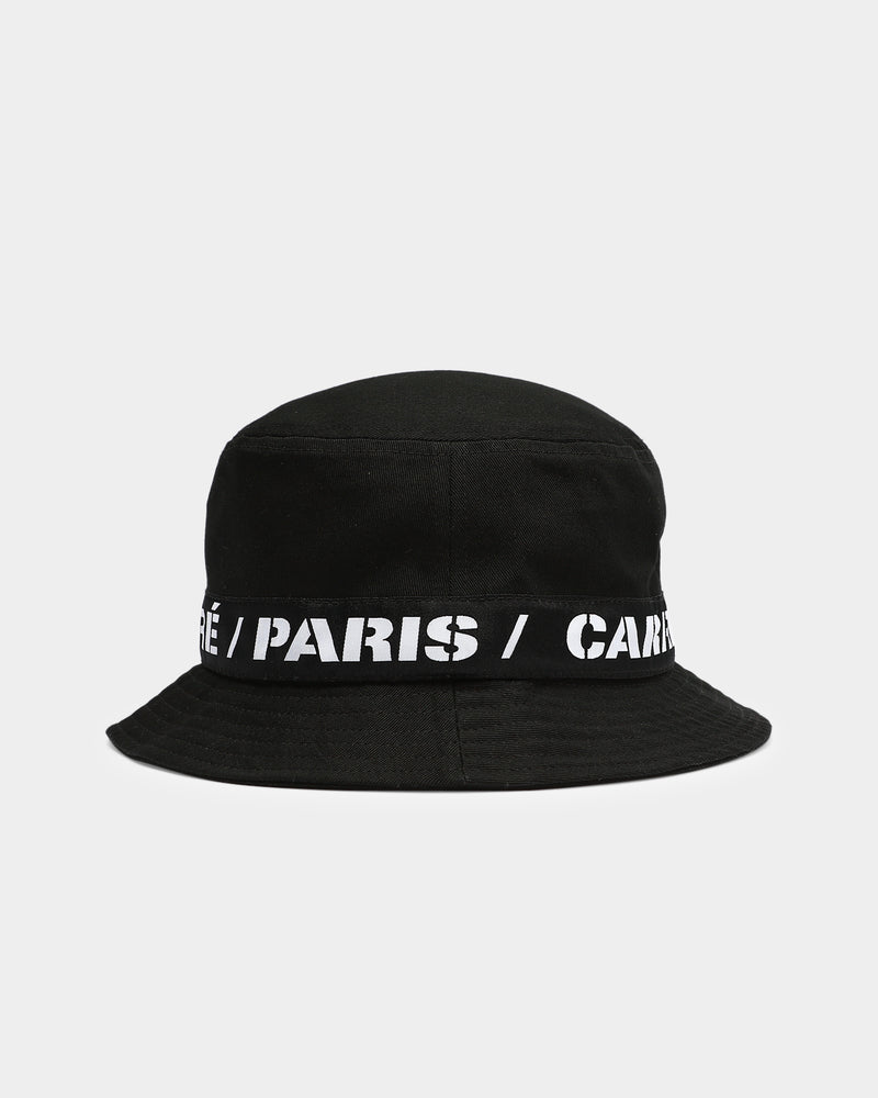 Carré Captain Bucket Hat Black