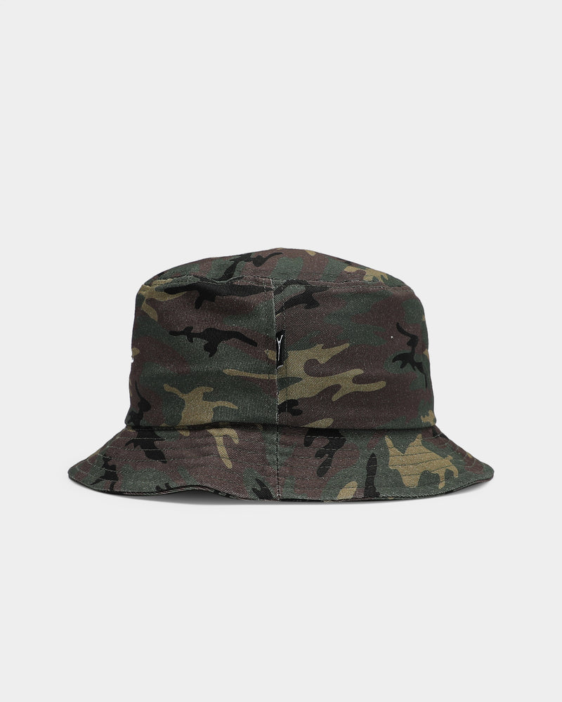 Carré Script Bucket Hat Camo