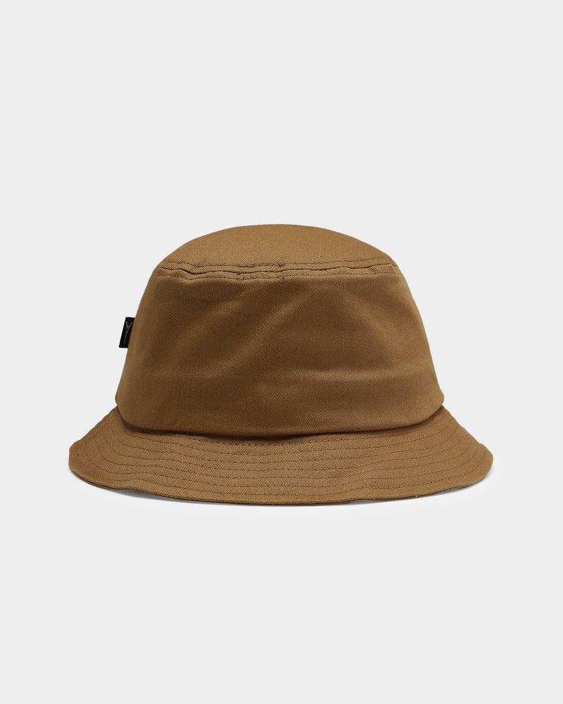 Carré Script Bucket Hat Olive