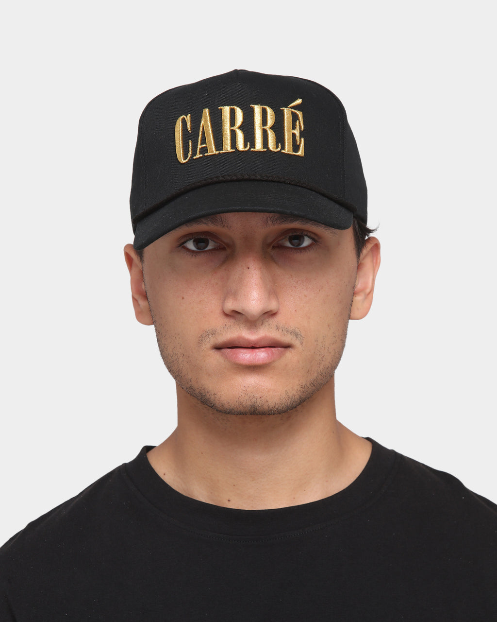 Carré Trevail Snapback Black/Gold