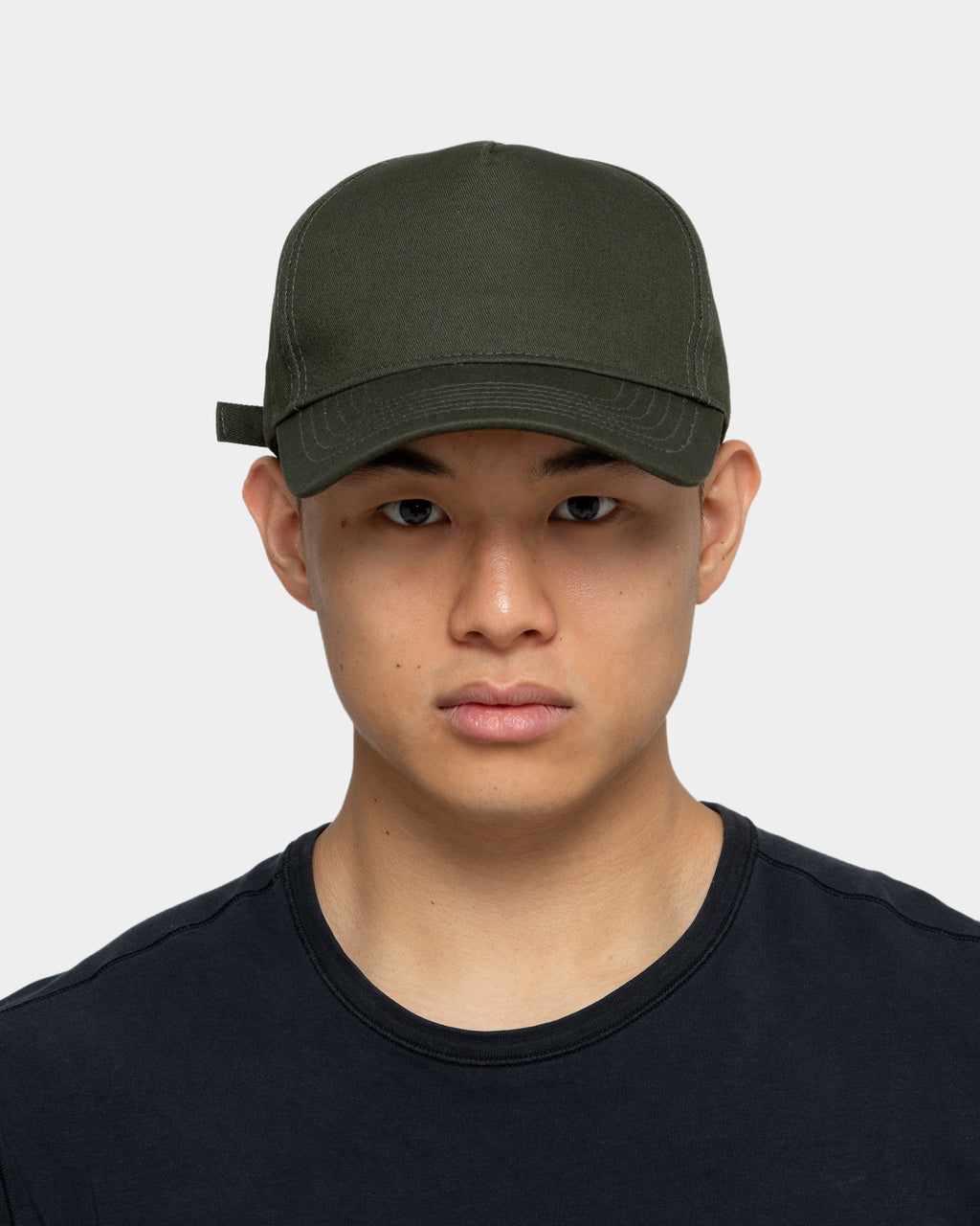 Carré Men's Script Iron Lady Strapback Army Green