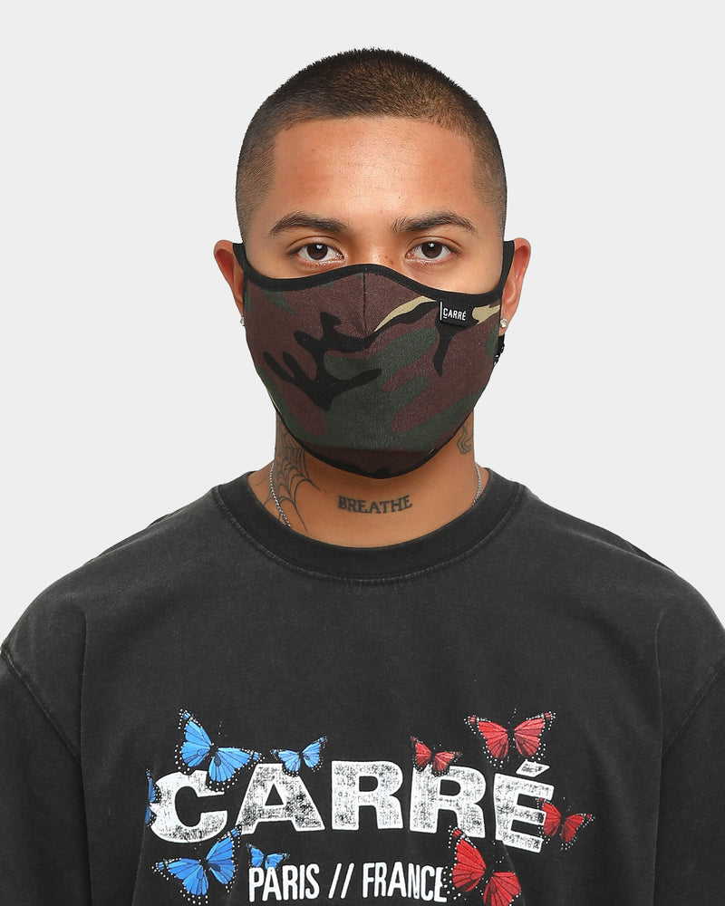 Carré Staple Face Mask Camo