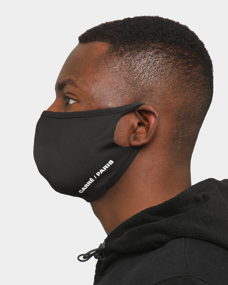 Carré Neoprene Face Mask Black