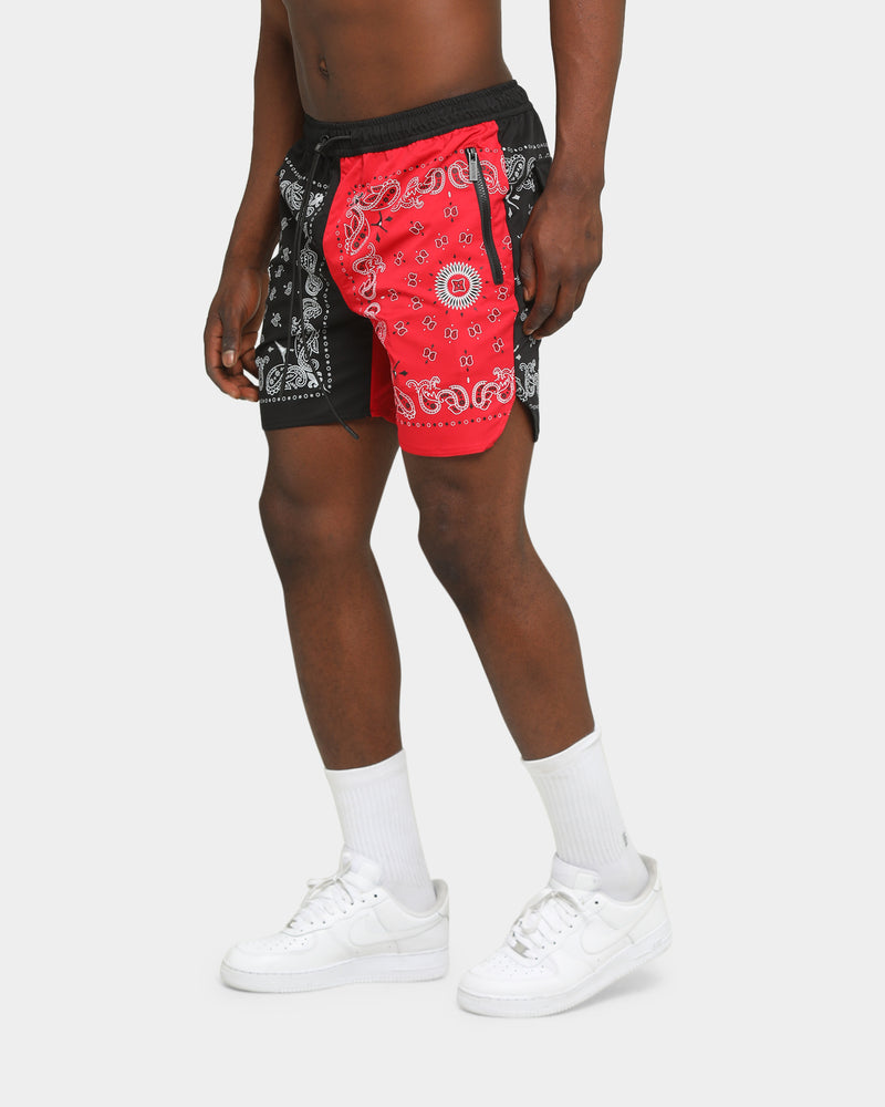 Carré Mafioso Shorts Black/Red