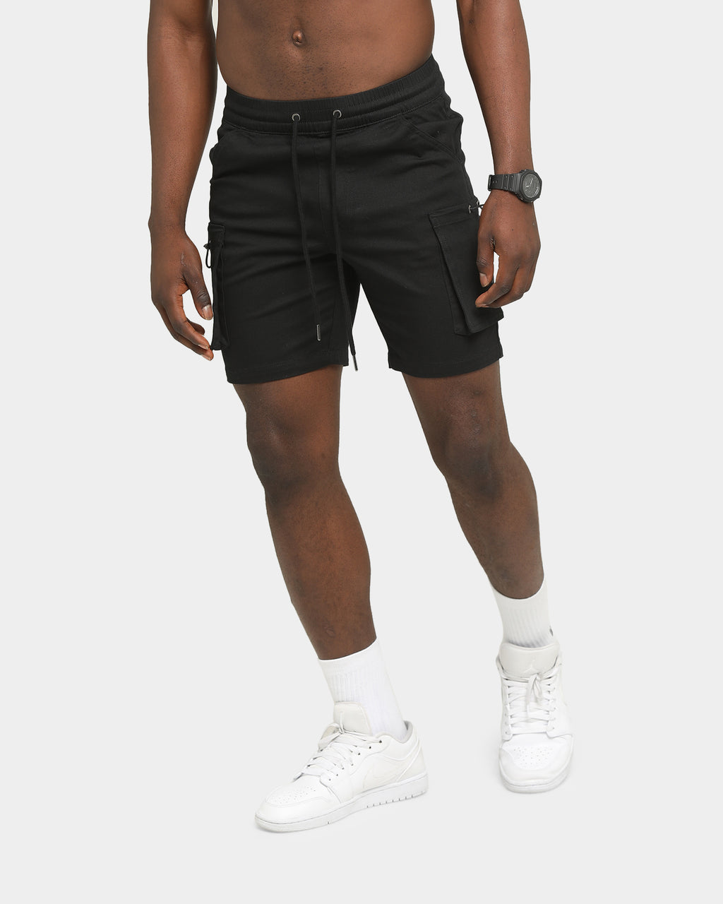 Carré Reload Cargo Shorts Black