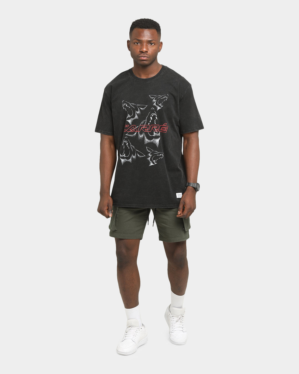 Carré Reload Cargo Shorts Army Green